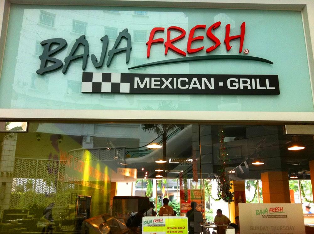1. Baja Fresh