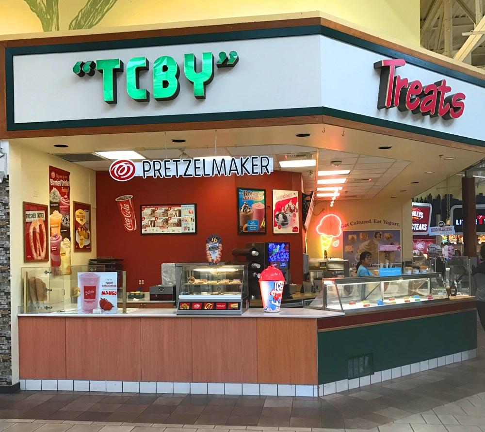 14. TCBY Frozen Yogurt