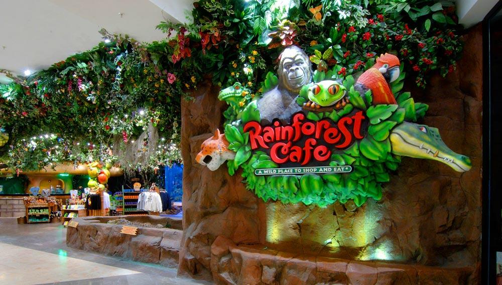 18. Rainforest Café