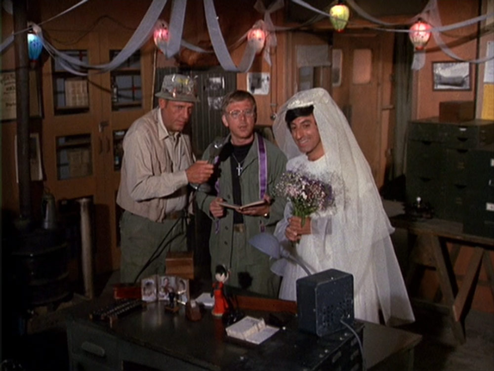 13. Klinger And His Wedding Dress