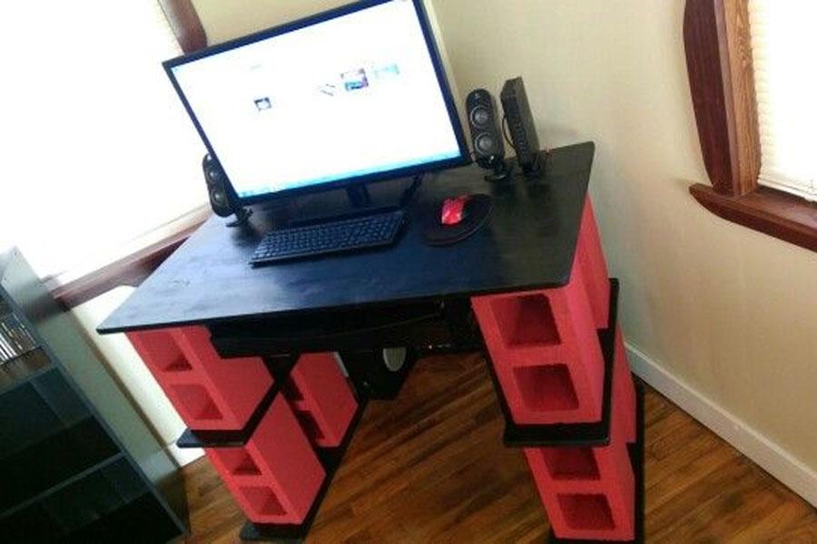 1. Cinder Desk