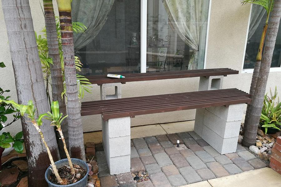 10. Plank Bench