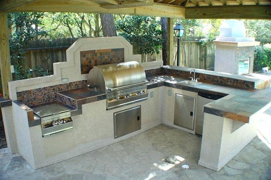 16. Outdoor Cooker