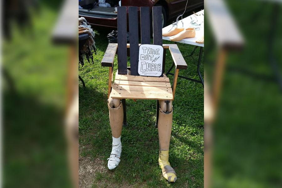 15. Limb Chair