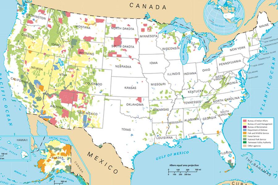 1. USA Territory