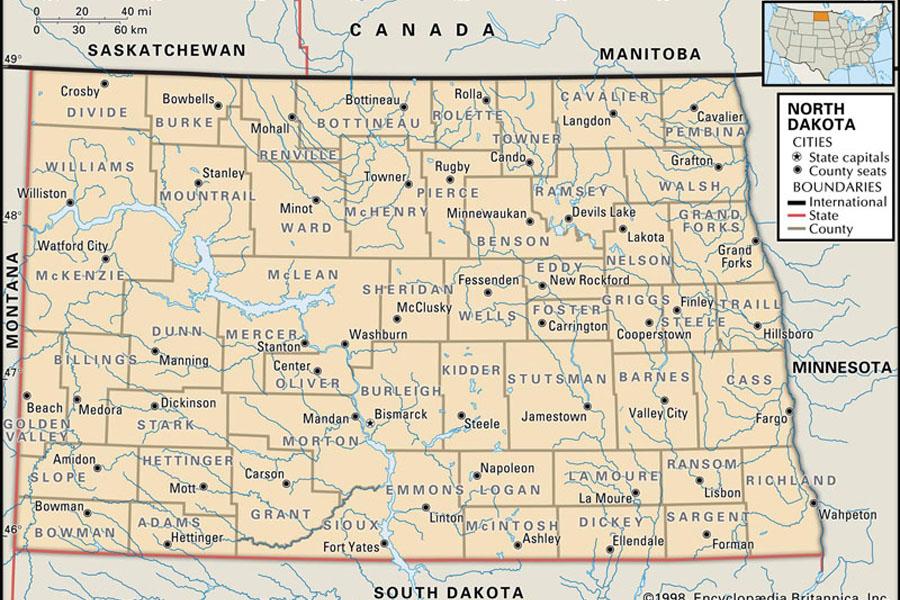 21. North Dakota's Cities