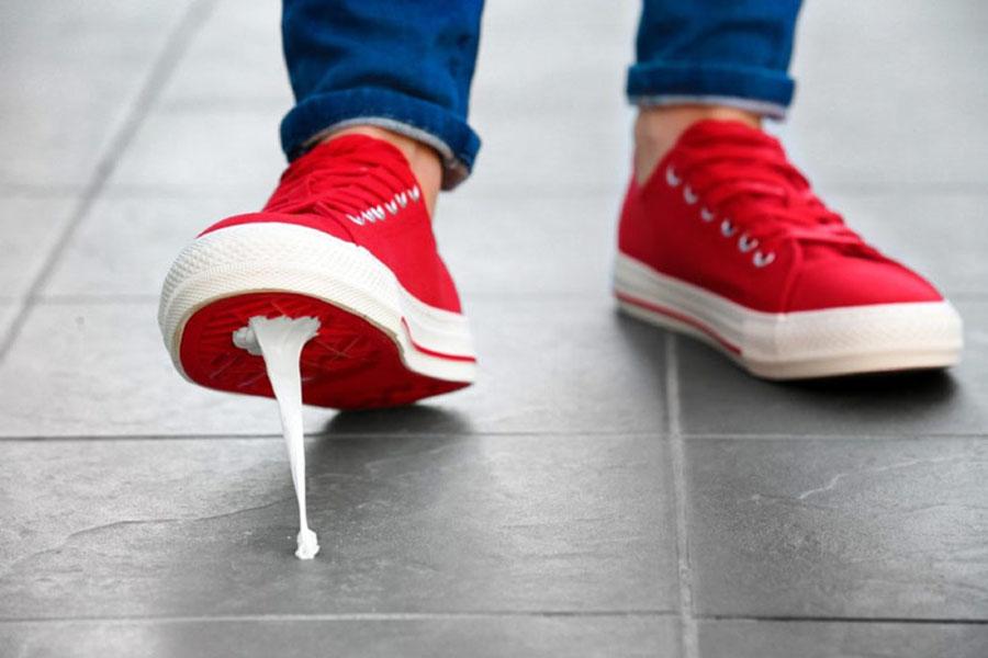 10. Stood In Gum Again?